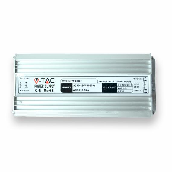 LED Tápegység - 30W 12V 2,5A Fém-vízálló