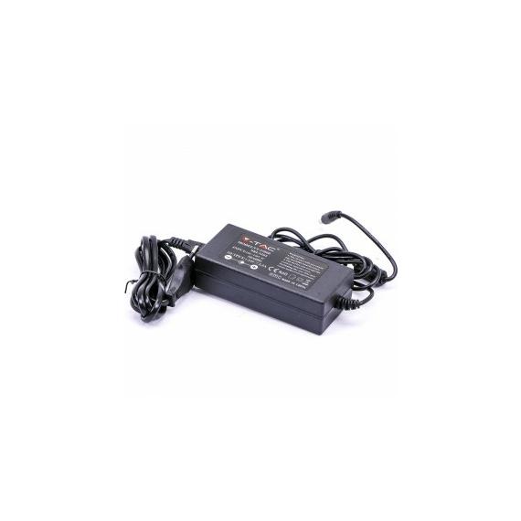LED Tápegység - 60W 24V 5A Műanyag -dugvillás