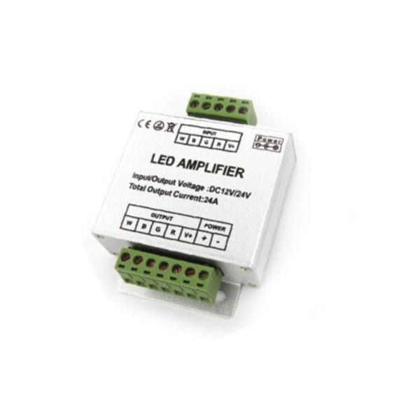 Jelerősítő RGB + W LED szalaghoz