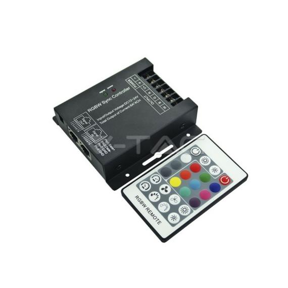 Rádiós vezérlő RGB+W LED szalaghoz