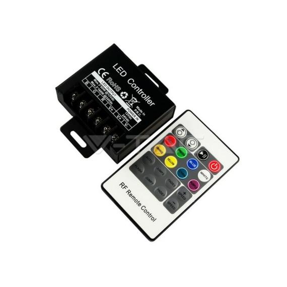 Mini rádiós vezérlő RGB LED szalaghoz