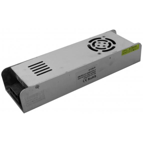 LED tápegység 12V 360W fém-ventilátoros